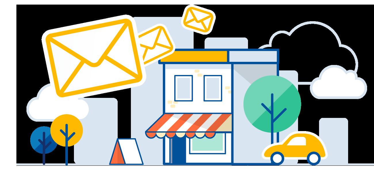 E-mail via Google