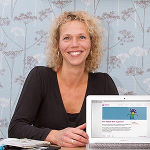 Janne van den Burgt, Eigenaresse van Praktijk Bluf